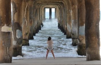 Pier am Manhatten Beach - LA