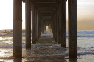 La Jolla Pier in San Diego